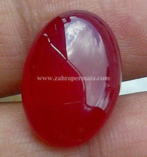 Batu  Permata Red Carnelian - ZP 302