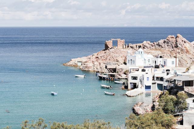 firopotamos, isla de milos, grecia