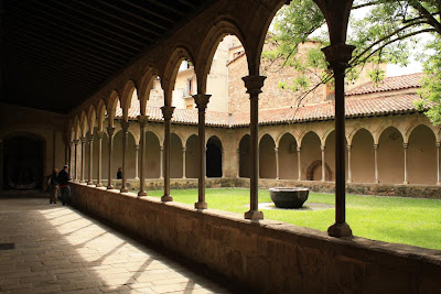 Gothic cloister of Sant Joan de les Abadesses monastery