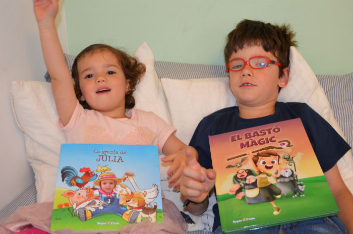 cuentos sorprendentes para fomentar la lectura, cuentos personalizados Super prota