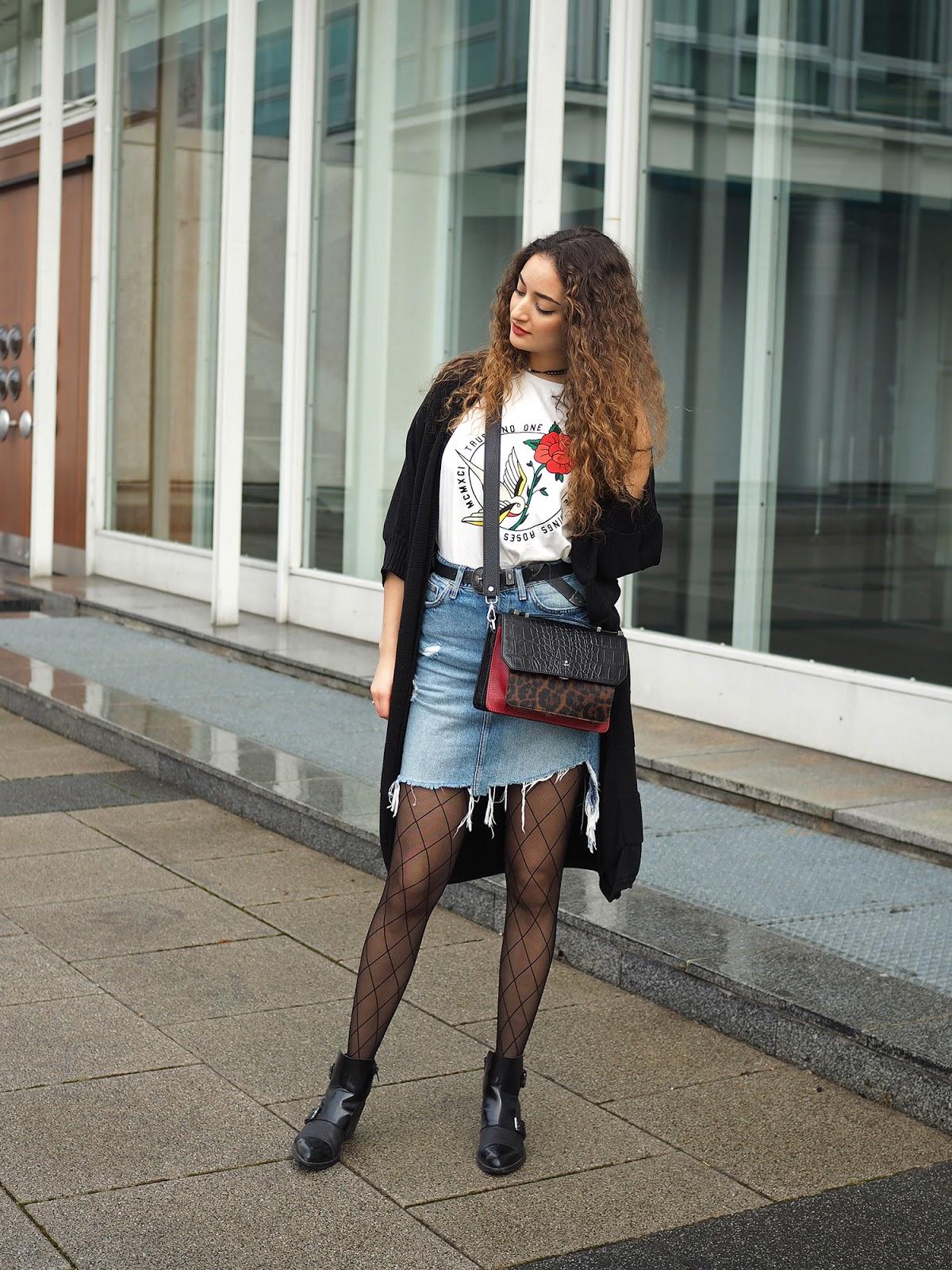 Street style legwear looks leblogdoriane.com