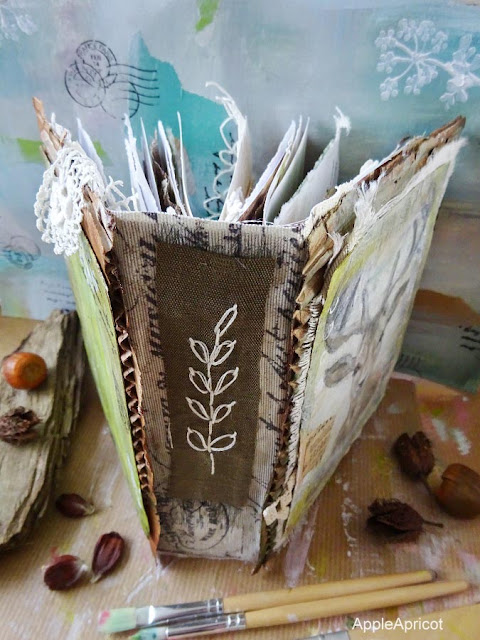 handmade nature journal A Walk In The Woods by AppleApricot