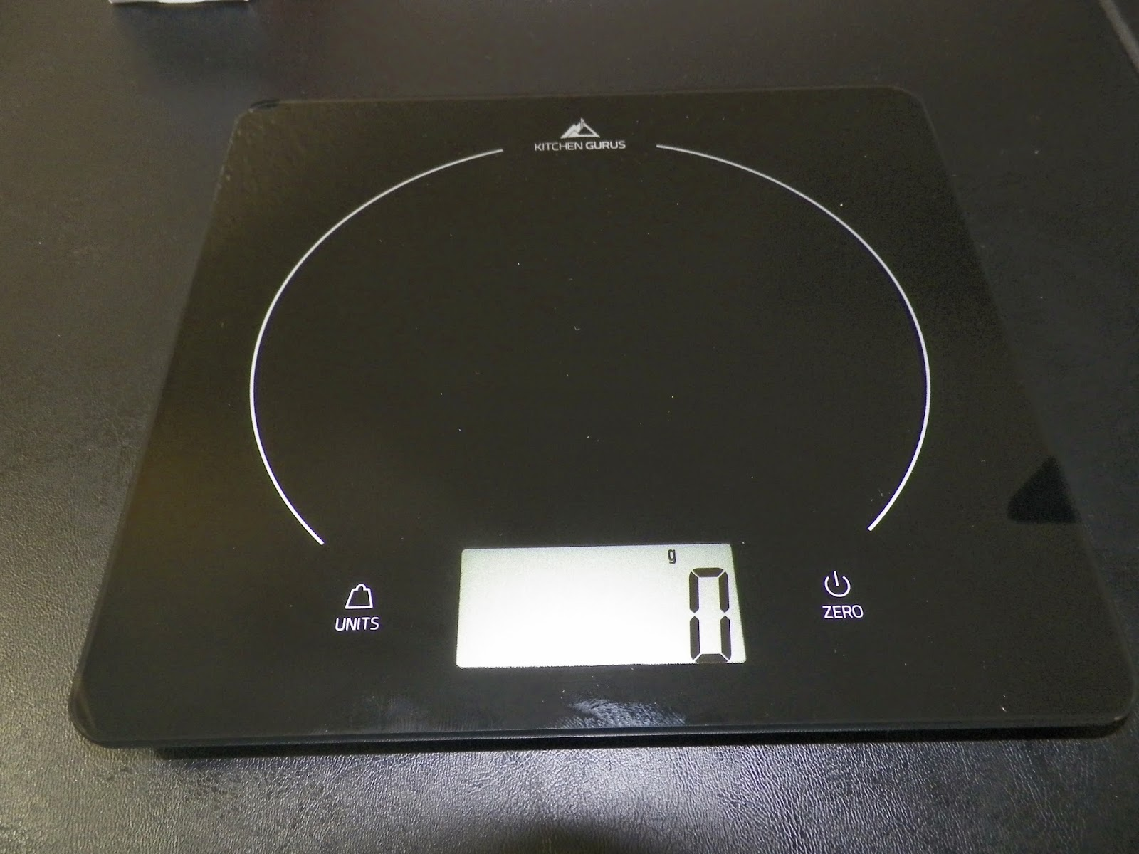 mygreatfinds: Kitchen Gurus Glass Top Digital Food Scale ...