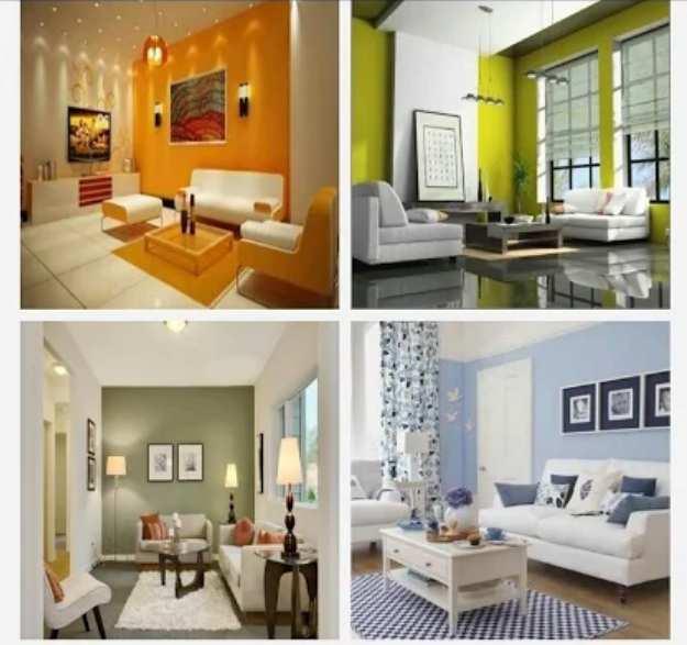 Contoh gambar Inspirasi cat ruangan rumah minimalis