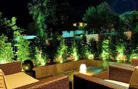 en el caso de utilizar lamparas de jardn pueden ser utilizadas como elemento decorativo del entorno