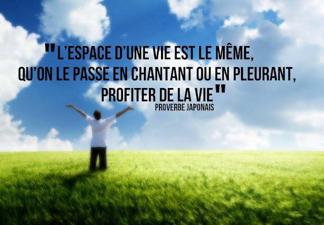 Citation Profiter De La Vie