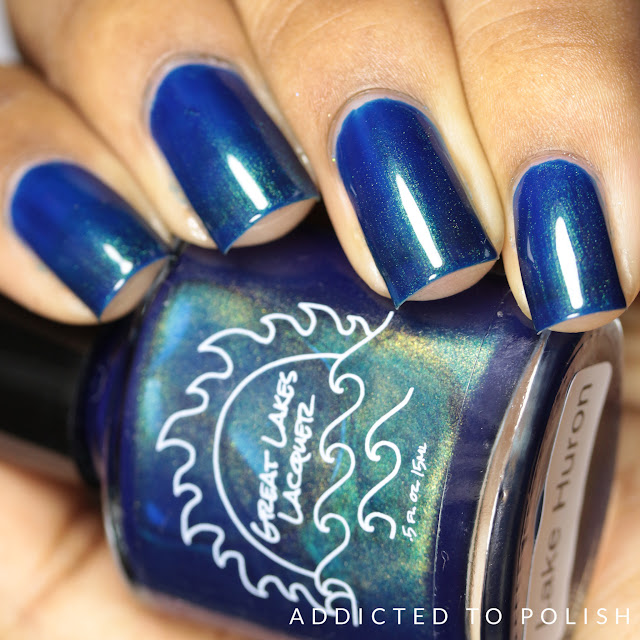 Great Lakes lacquer Lake Huron The Great Ones Collection