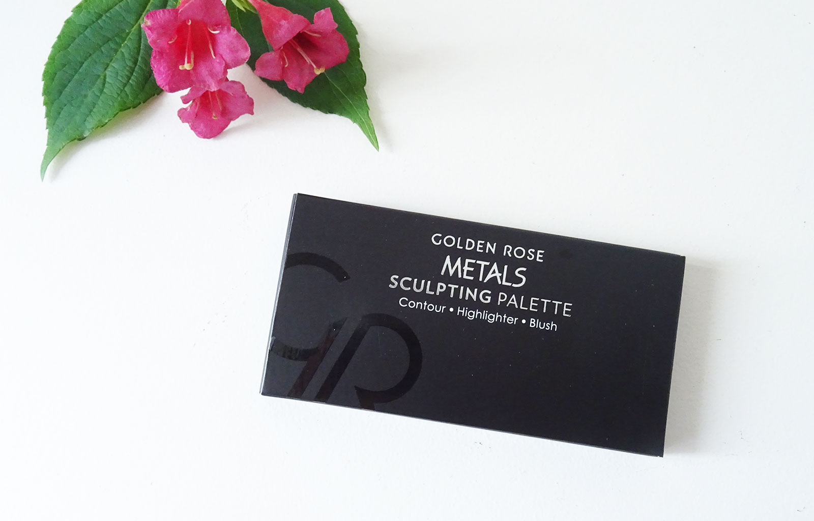 Metals Sculpting Palette Cookie's Make Up Golden Rose