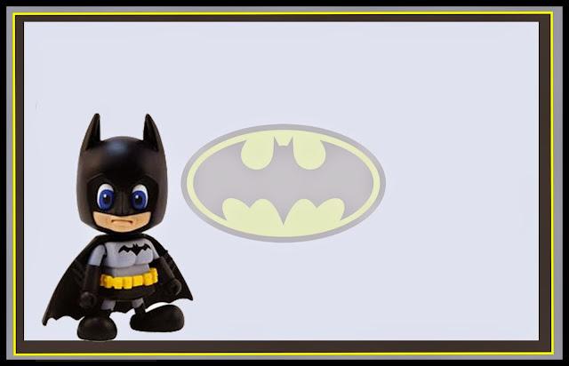 Para hacer Invitaciones, Tarjetas o Marco de Fotos para Imprimir Gratis de Batman.