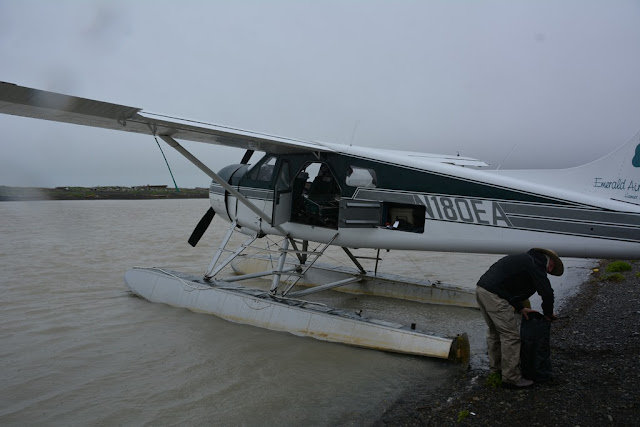 Katmai National Park floatplane
