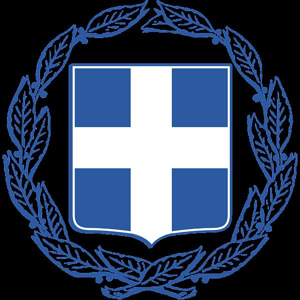 Logo Gambar Lambang Simbol Negara Yunani PNG JPG ukuran 600 px