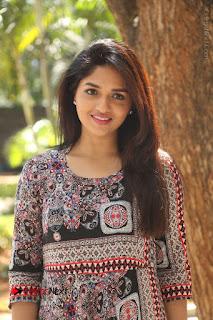 Actress Sunaina Latest Stills in Floral Dress at Pelliki Mundu Prema Katha Trailer Launch  0039.JPG