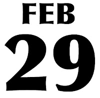Feb 29 2012, Leap Year