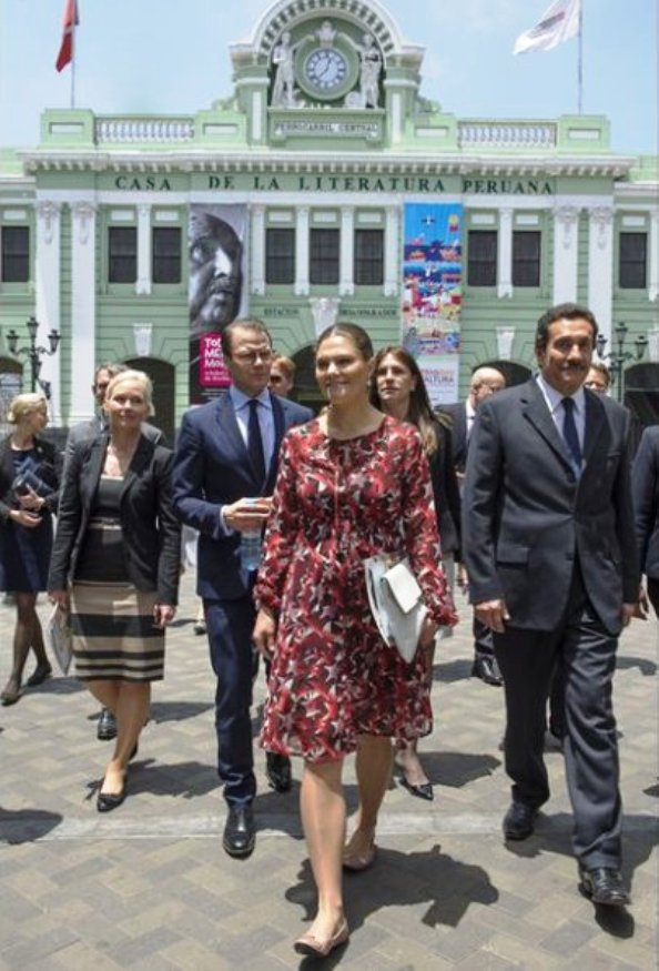 Princess Victoria And Prince Daniel's Visit To Peru, Day 2