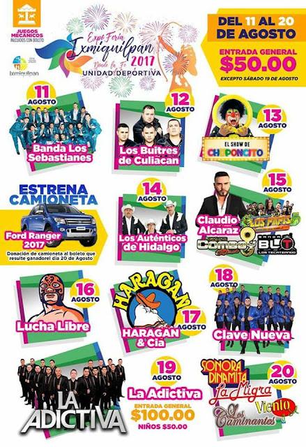 expo feria ixmiquilpan 2017