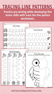 https://www.myteachingstation.com/worksheets/line-pattern-tracing
