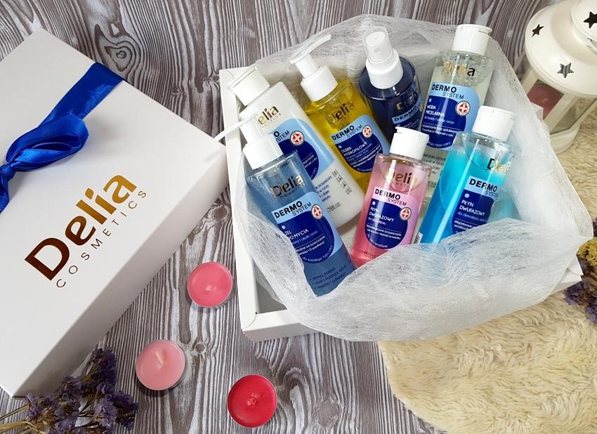 Demakijaż i oczyszczanie cery z Delia Dermo system
