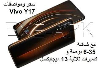 سعر ومواصفات Vivo Y17 مع شاشة 6.35 بوصة و كاميرات ثلاثية 13 ميجابكسل