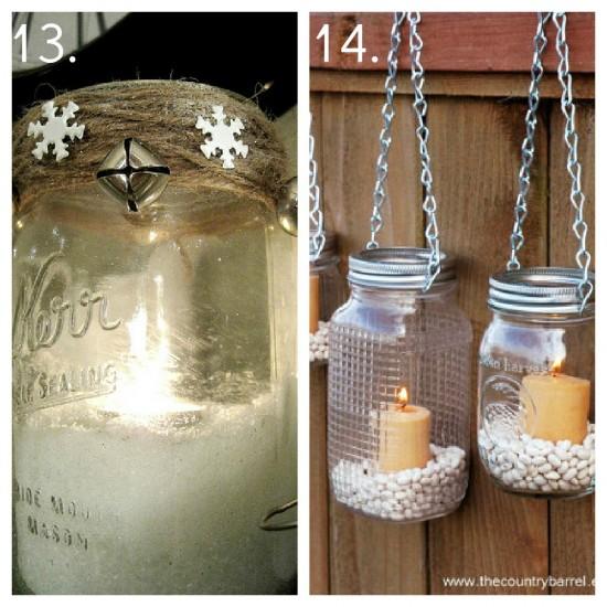 TWC: Decorating with Mason jars