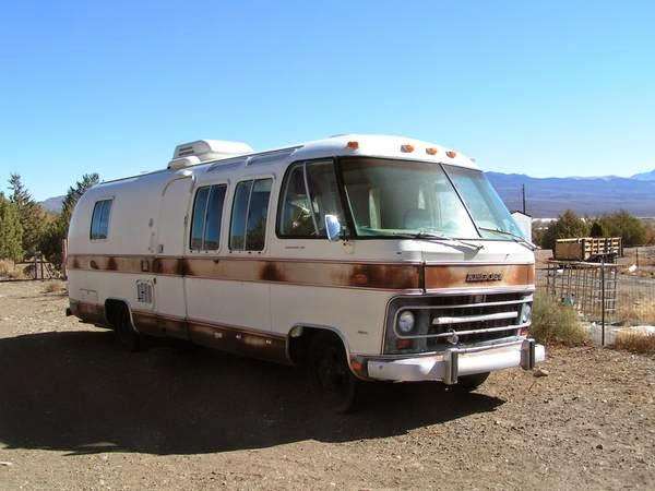 used rvs 1976 airstream argosy motorhome for sale for sale by owner. Black Bedroom Furniture Sets. Home Design Ideas