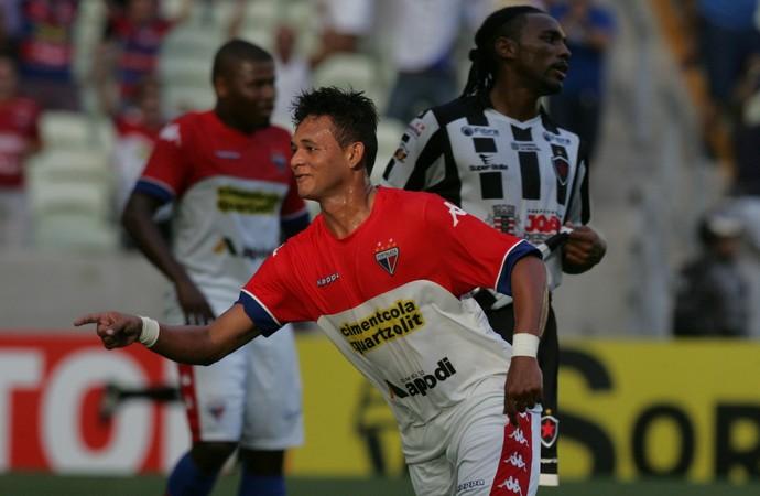 A posição na tabela dá a exata noção da diferença técnica entre Fortaleza e  Botafogo-PB. E isso ficou ainda mais evidente na tarde deste sábado(18 07). e0a3f80bd7051