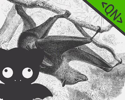 A raposa voadora - monstro voador superfofo