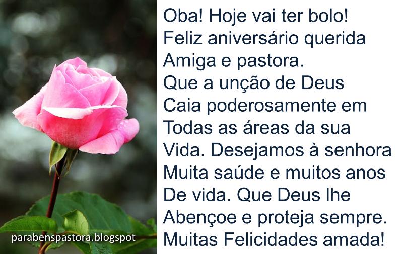 Parabéns Querida Pastora: Mensagem De Aniversário Para Pastora Evangélica