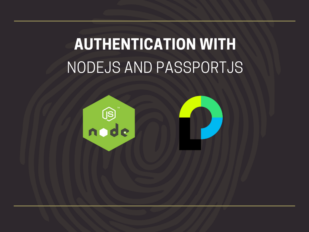Authentication with Node and Passport - _theDevNotebook
