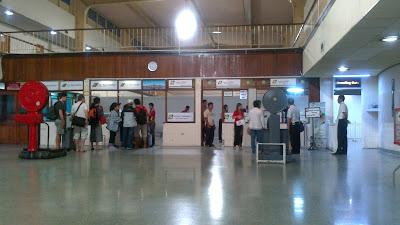 aeropuerto de yangon facturacion