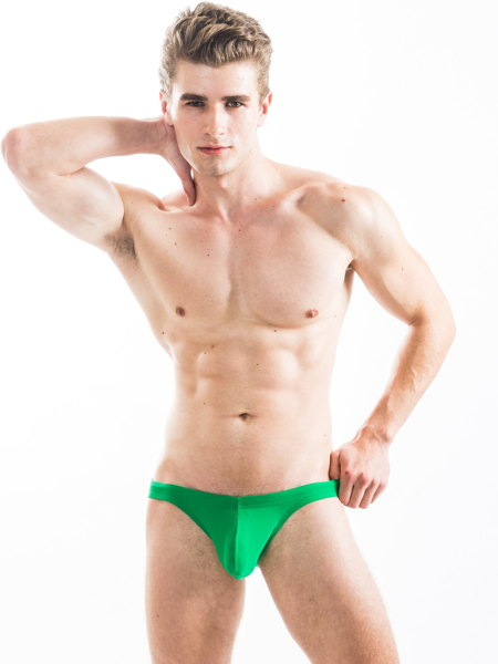 N2N Bodywear Maverick Swim Bikini Cリング付きスイムビキニ