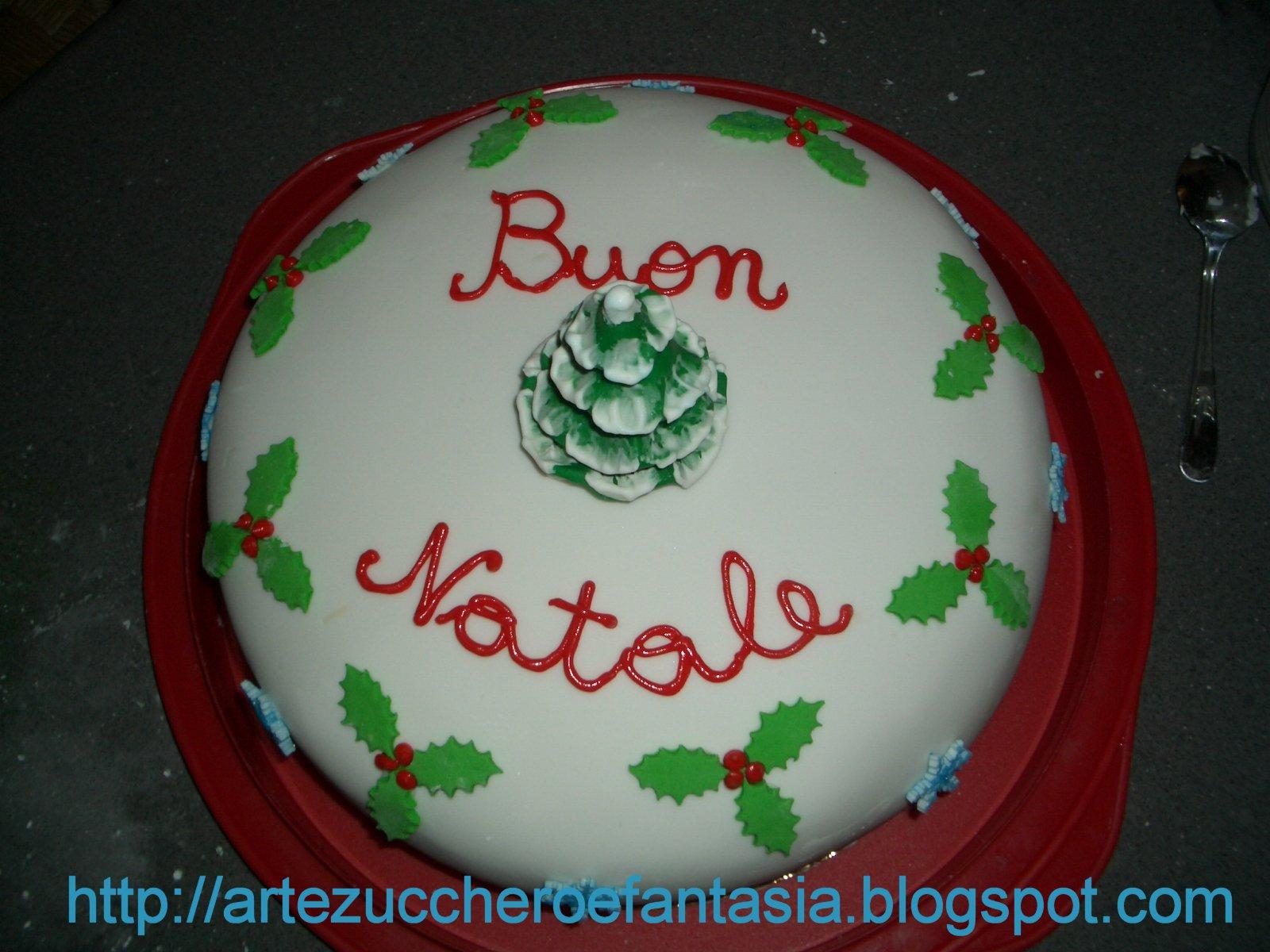 Torta Per Pranzo Di Natale.Arte Zucchero E Fantasia Buon Natale