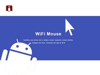 handphone android sebagai mouse komputer