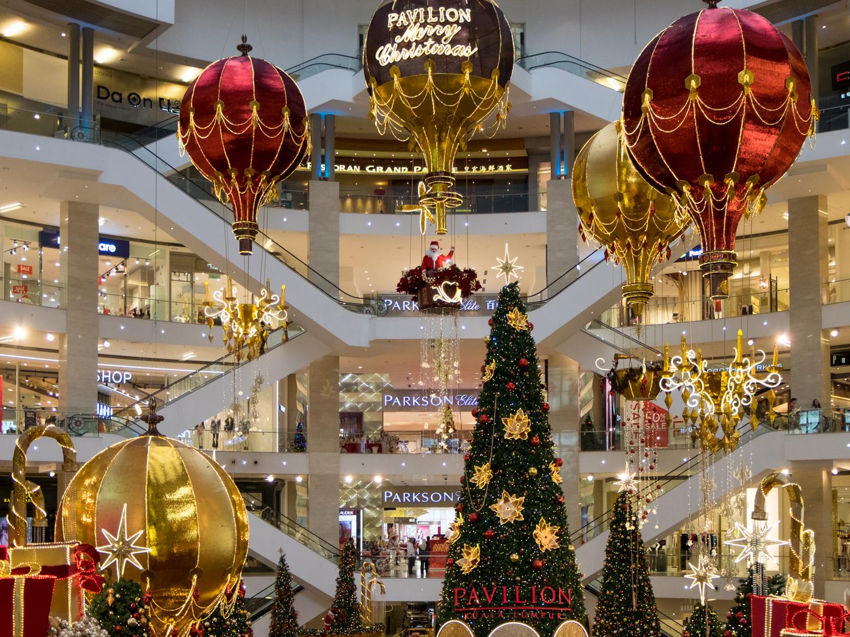 Image result for kuala lumpur christmas mall