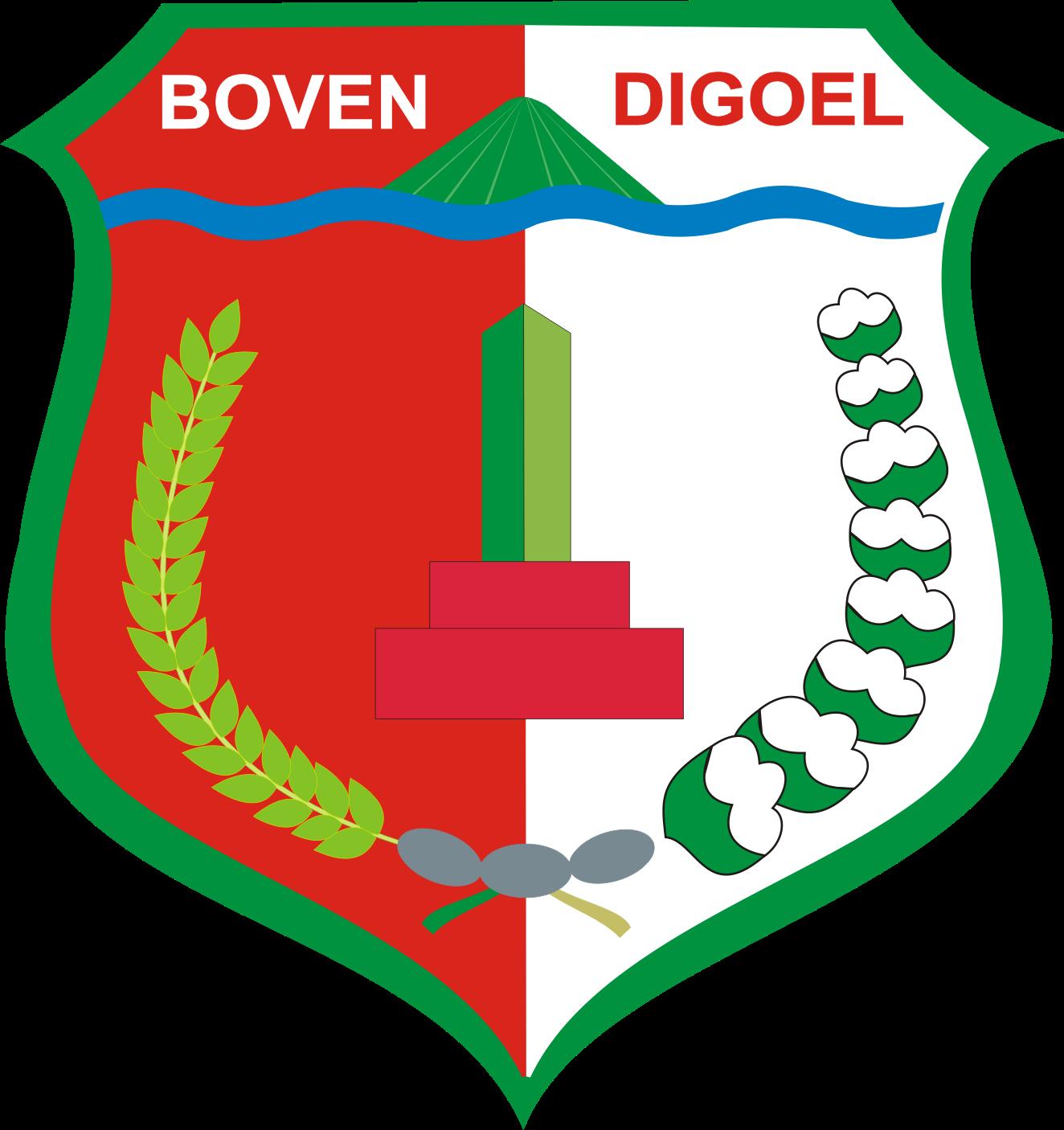 Logo Kabupaten Boven Digoel Provinsi Papua Logo