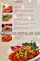 Red Garlic Pasta Menu and Prices