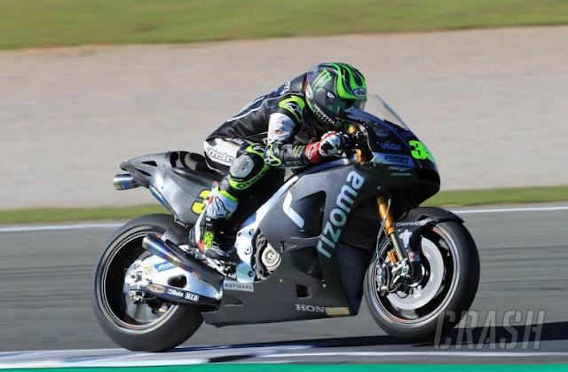 moto nueva Crutchlow motogp