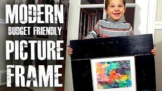 Як зробити модерну рамку для картини?