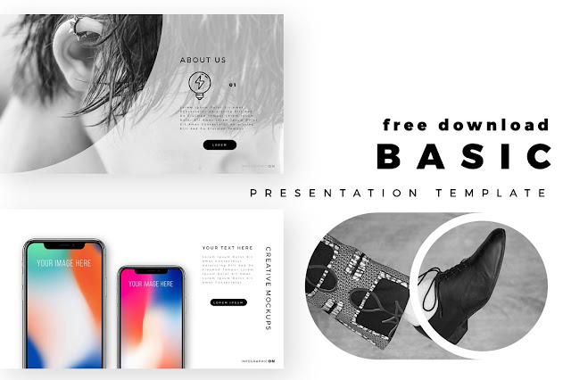 BASIC Free PowerPoint Template Slide 01