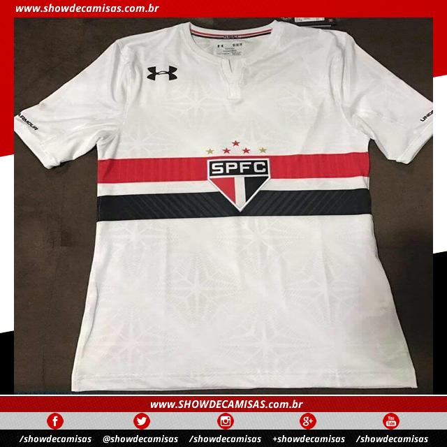 5ca87f9987 Nova camisa titular do São Paulo tem imagem vazada - Show de Camisas