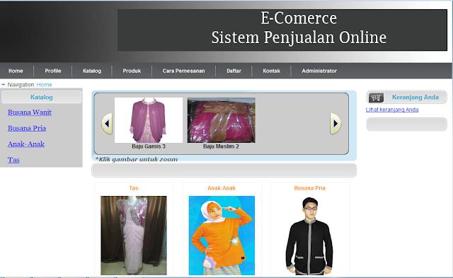 script php, penjualan online, script e-commerce