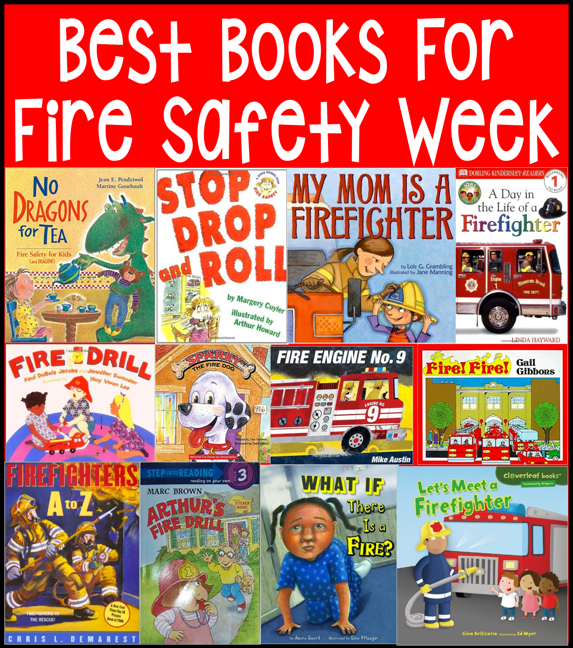 Fire Prevention Week In Kindergarten