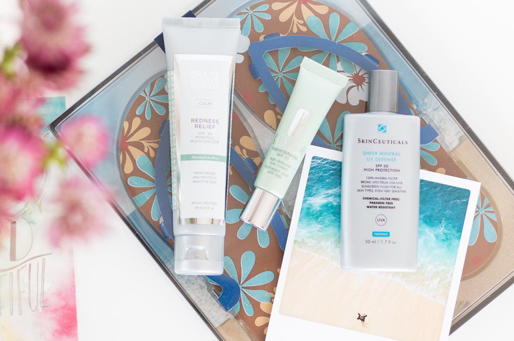 Sonnenschutzcremes Mineralische UV-Filter ungetoent Paulas Choice Clinique SkinCeuticals