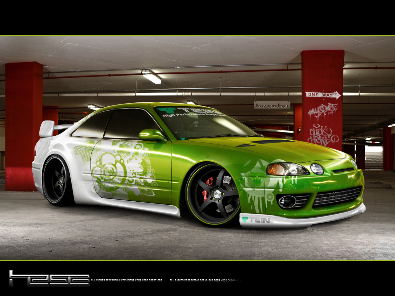 Free Wallpapers Collection: Fantastic Animated Cars Wallpapers