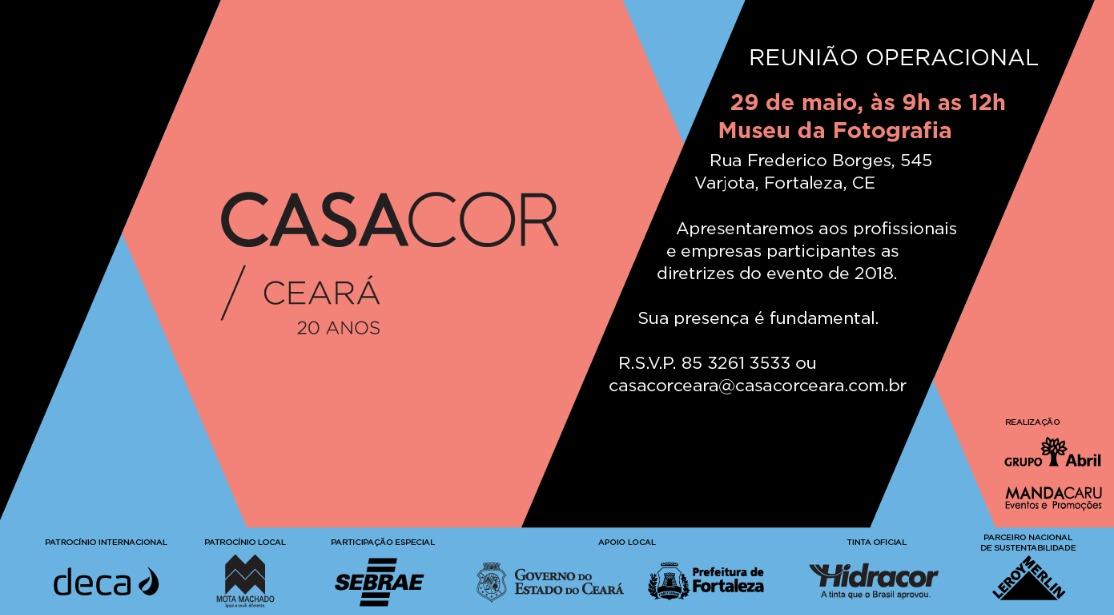 ac9533dee CasaCor Ceará 2018 abre em 13 de setembro
