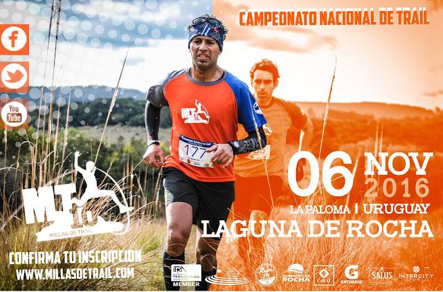 MT10 - 10 millas de trail (16k) en Laguna de Rocha (próx a La Paloma - Rocha, 06/nov/2016)