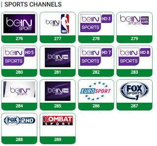 SOME TSTV SPORTS CHANNELS