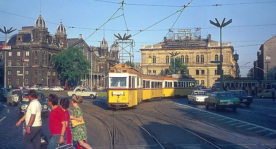 color photographs of budapest in circa 1960s 1970s