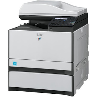 is already touchstone alongside the functions of printing Sharp MX-C300 Driver Download