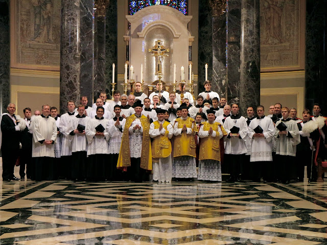 Image result for young seminarians latin
