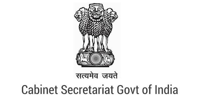 Cabinet Secretariat Government Of India Recruitment 2016